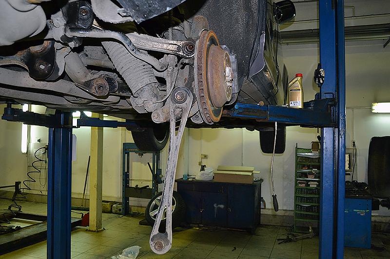 Как сделать ремонт подвески